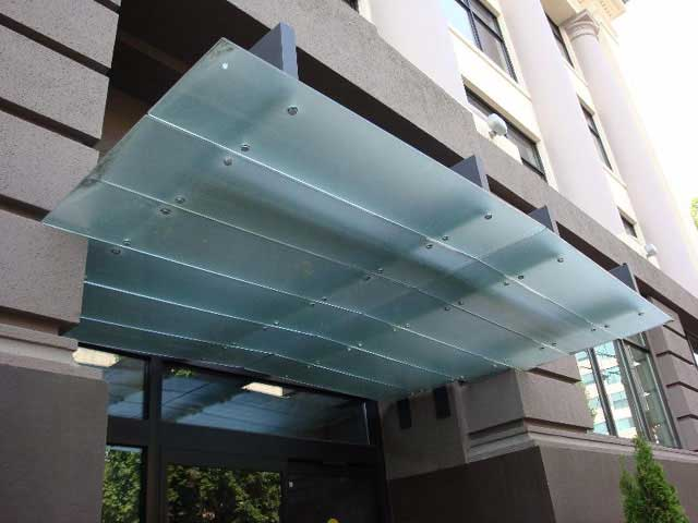 See Some Of The Beautiful Custom Glass Canopies We Ve