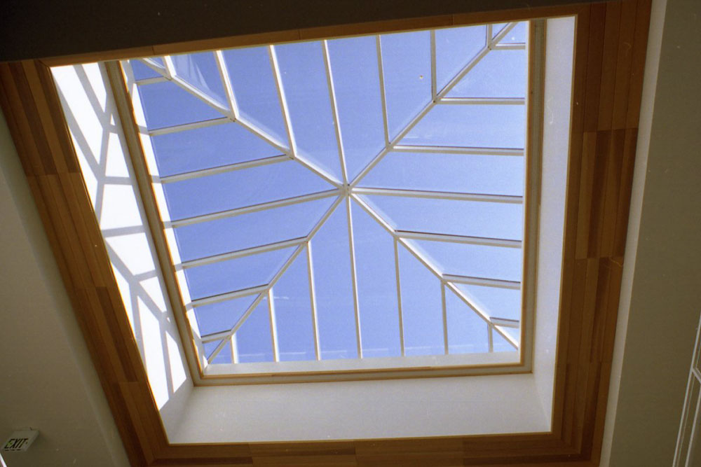 Microsoft Corporate Pyramid Skylight Interior