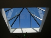 Pyramid Skylight Interior