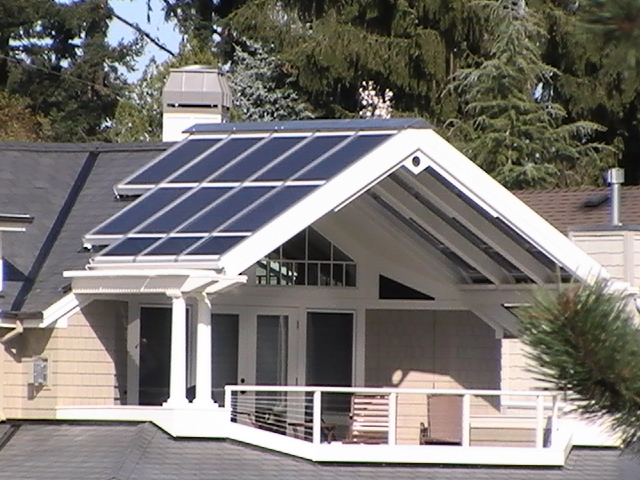 Lake Oswego Residential Ridge with Solar